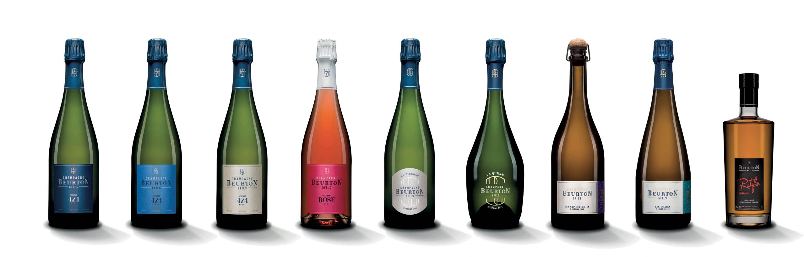 Gamme Champagne Beurton & Fils